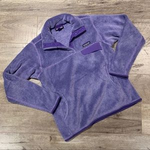 Women's Patagonia Re-Tool Snap T Fleece Sweater